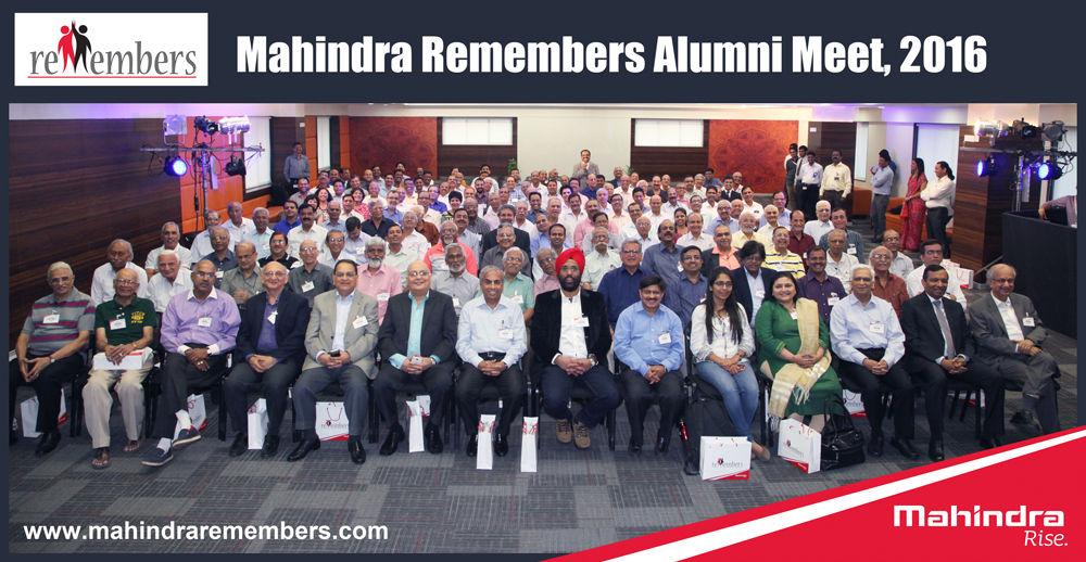 3rd Annual Mahindra Alumni Meet Feb 2016, at MITC Kandivali